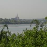 Blick über die Südsee auf den Dom